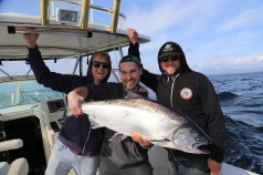 Chinook Salmon Fishing in Tofino during May 2014
