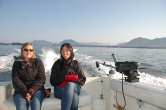 Comfortable Ride with Cleanline Sportfishing Tofino